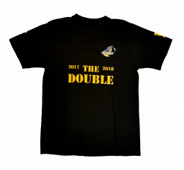 T-Shirt sort - The Double