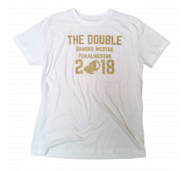T-Shirt hvid - The Double