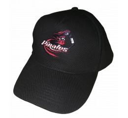 Cap - Sort med logo