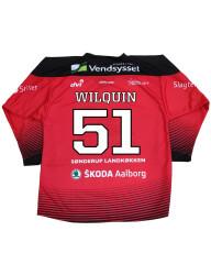 Spillertrøje med navn og nummer #51 Wilquin